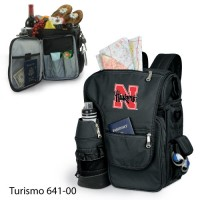 University of Nebraska Printed Turismo Tote Black