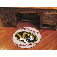 University of Missouri Baseball Rug