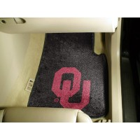 University of Oklahoma 2 Piece Front Car Mats