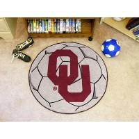 University of Oklahoma Soccer Ball Rug