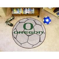 University of Oregon Soccer Ball Rug