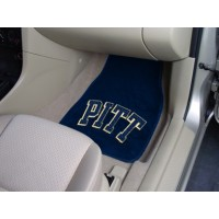 University of Pittsburgh 2 Piece Front Car Mats