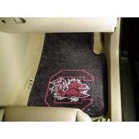 University of South Carolina 2 Piece Front Car Mats