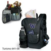 University of Washington Embroidered Turismo Tote Black