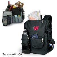 University of Wisconsin Embroidered Turismo Tote Black