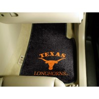 University of Texas 2 Piece Front Car Mats