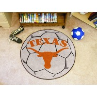 University of Texas Soccer Ball Rug