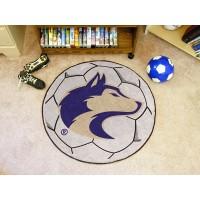 University of Washington Soccer Ball Rug