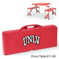 UNLV Printed Picnic Table Red