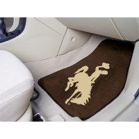University of Wyoming 2 Piece Front Car Mats