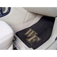 Wake Forest University 2 Piece Front Car Mats