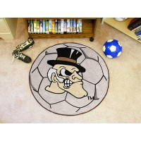 Wake Forest University Soccer Ball Rug