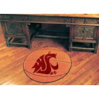 Washington State University Basketball Rug