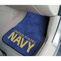 NAVY 2 Piece Front Car Mats