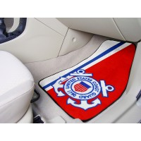 US Coast Guard 2 Piece Front Car Mats