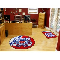 US Coast Guard 44-inch Non-Licensed Round Ball Rug