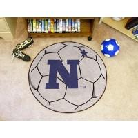 US Naval Academy Soccer Ball Rug