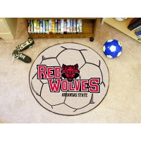 Arkansas State University Soccer Ball Rug