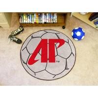 Austin Peay State University Soccer Ball Rug