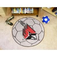 Ball State University Soccer Ball Rug