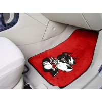 Boston University 2 Piece Front Car Mats