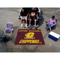 Central Michigan University Tailgater Rug