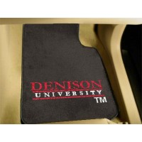 Denison University 2 Piece Front Car Mats
