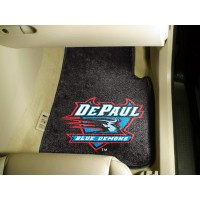 DePaul University 2 Piece Front Car Mats