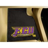 East Carolina University 2 Piece Front Car Mats
