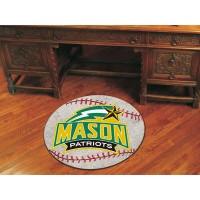 George Mason University Baseball Rug
