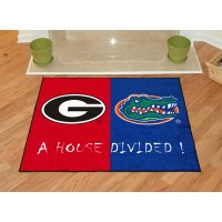 Georgia - Florida All-Star House Divided Rug