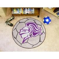 Holy Cross Soccer Ball Rug