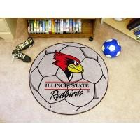 Illinois State University Soccer Ball Rug