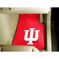 Indiana University 2 Piece Front Car Mats