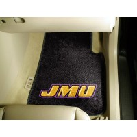 James Madison University 2 Piece Front Car Mats