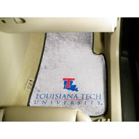 Louisiana Tech University 2 Piece Front Car Mats