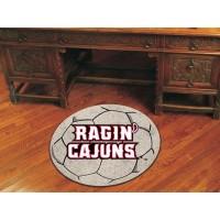 Louisiana-Lafayette Soccer Ball Rug