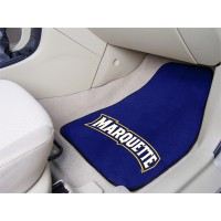 Marquette University 2 Piece Front Car Mats