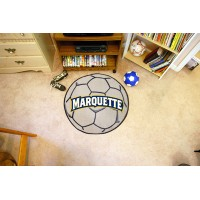 Marquette University Soccer Ball Rug