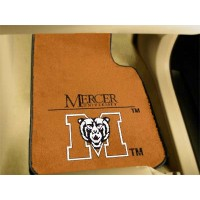 Mercer University 2 Piece Front Car Mats