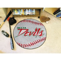 Mississippi Valley State University Baseball Rug