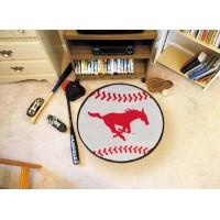 Southern Methodist University Baseball Rug