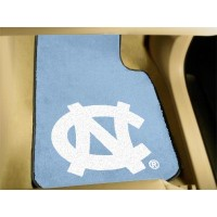 UNC University of North Carolina - Chapel Hill 2 Piece Front Car Mats