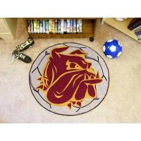 University of Minnesota-Duluth Soccer Ball Rug