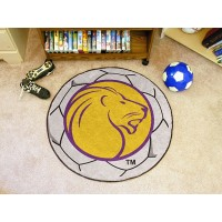 University of North Alabama Soccer Ball Rug