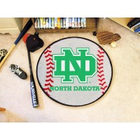 University of North Dakota Baseball Rug