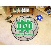 University of North Dakota Soccer Ball Rug