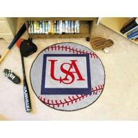 University of South Alabama Baseball Rug