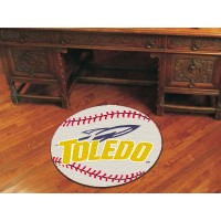 University of Toledo Baseball Rug