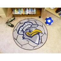 University Tennessee Chattanooga Soccer Ball Rug